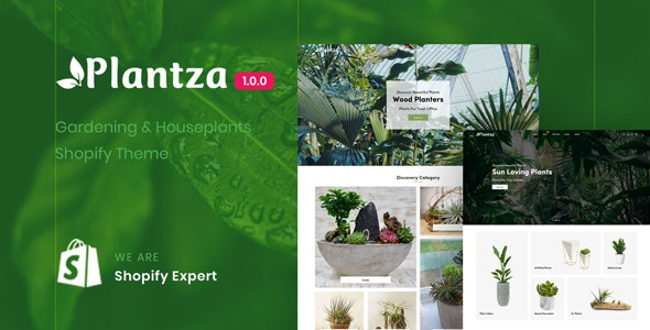 Plantza (1.0) - Gardening & Houseplants Shopify Theme