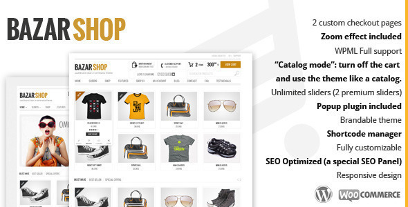 Bazar Shop (3.20.0) - Multi-Purpose e-Commerce Theme