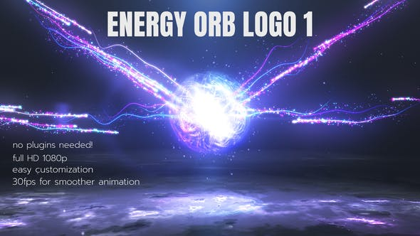 Energy Orb Logo 1 (After Effects)