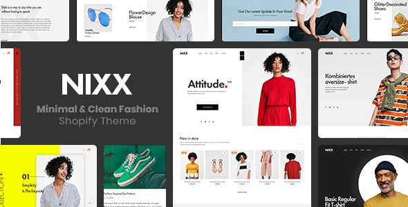 NIXX (1.0.0) - Minimal & Clean Fashion Shopify Theme