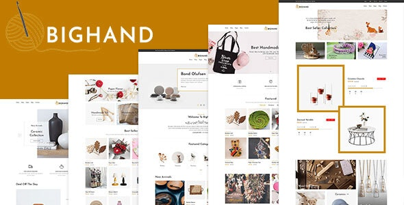 BigHand (1.0) - Handmade Shop Shopify Theme