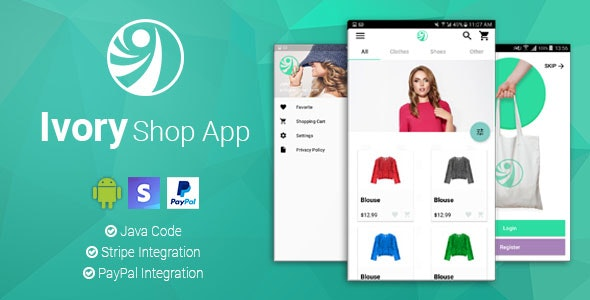 Ivory Shop (2.2.2) - Android eCommerce App