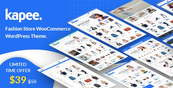Kapee - Fashion Store WooCommerce Theme (1.3.11)