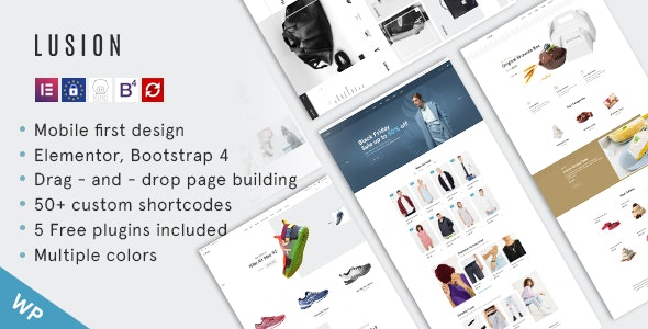 Lusion (1.4.2) - Multipurpose eCommerce WordPress Theme