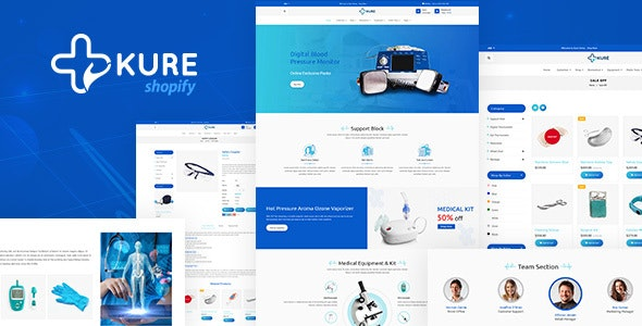 Kure (1.3) - Corona Medical Shop Shopify Theme