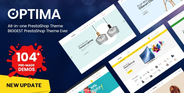 Optima - Multipurpose Responsive Prestashop 1.7 Theme (2.0.4)