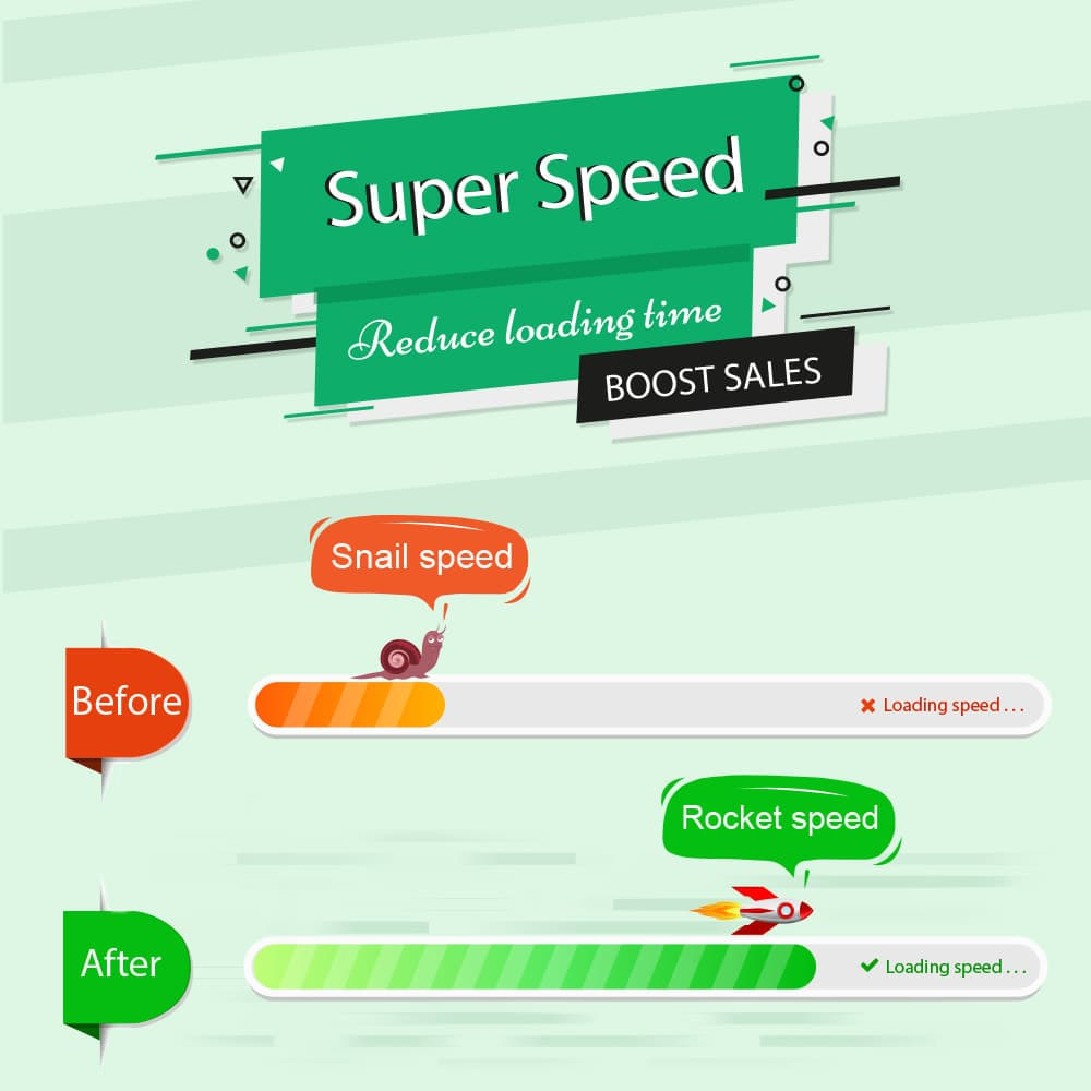 Super Speed - Incredibly Fast - GTmetrix Optimization Module Prestashop (1.2.5)