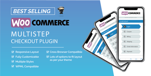 WooCommerce MultiStep Checkout Wizard (3.7.1)