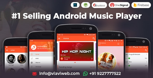 Android Music Player (от 25.10.2019) - Online MP3 (Songs) App