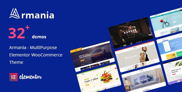 Armania (1.1.5) - Multipurpose Elementor WooCommerce Theme (RTL Supported)